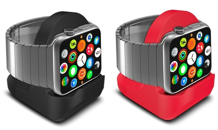 InTech Mini Charging Stand for Apple Watch with Integrated Cable-Management Slot