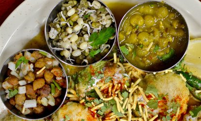 Veg Dinner at Gokul Cafe (Up to 40% Off). Two Options Available