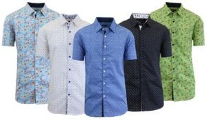 Men's Short Sleeve Modern Dress Shirt at Men's Short Sleeve Modern Dress Shirt, plus 6.0% Cash Back from Ebates.