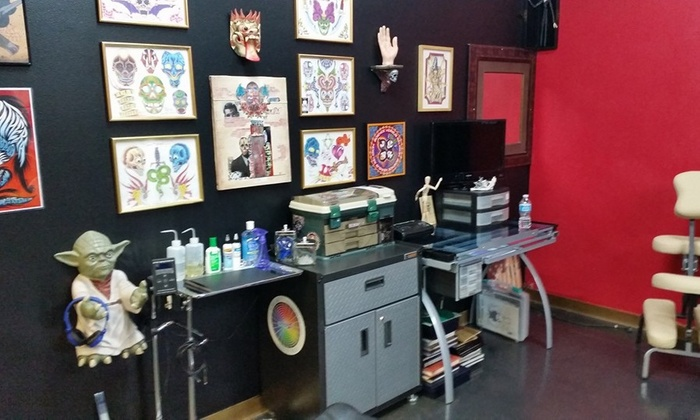 Tattoos by Dagger Mike - Spring Valley: $50 for $100 Worth of Services — Dagger Mike