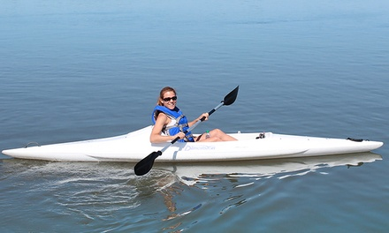Single or Double Kayak Rentals for One or Two Hours at Miss Chris Marina Kayak Rentals (Up to 42% Off)