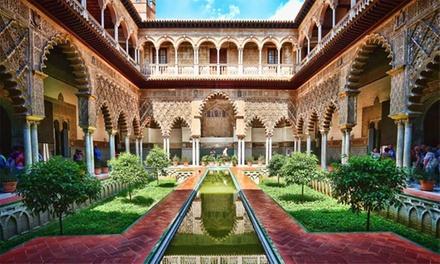 Granada:1,2 o 3 noches para 2 con desayuno o media pensión o mariscada y opción a entrar a la Alhambra en Hotel Poniente