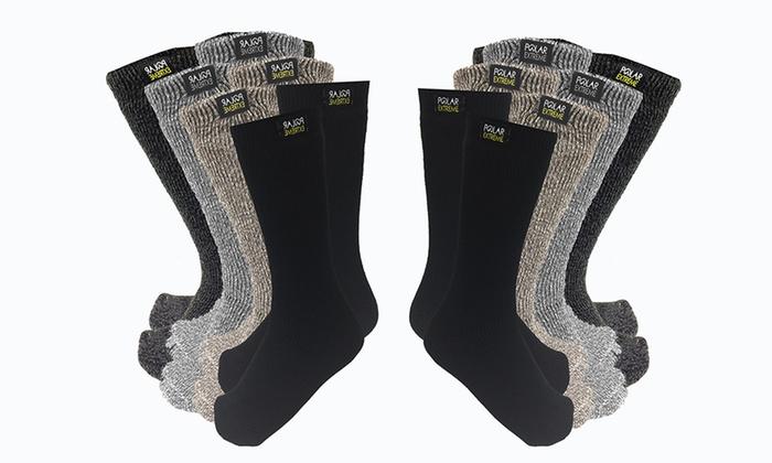 Polar Extreme Men's Thermal Socks (2-Pack)