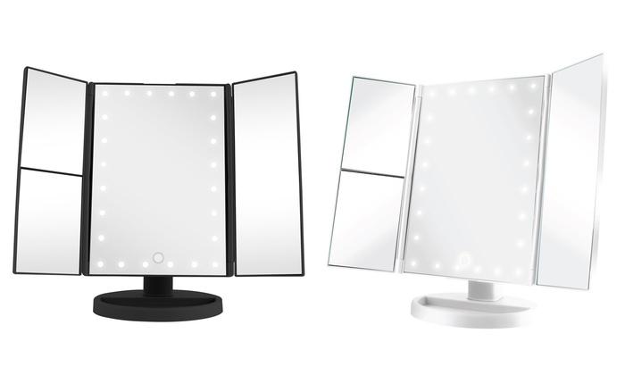 Vivitar Simply Beautiful Cordless Led Light Up Vanity Mirror