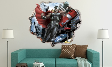 Avengers Vinyl Decals for £26.98 With Free Delivery
