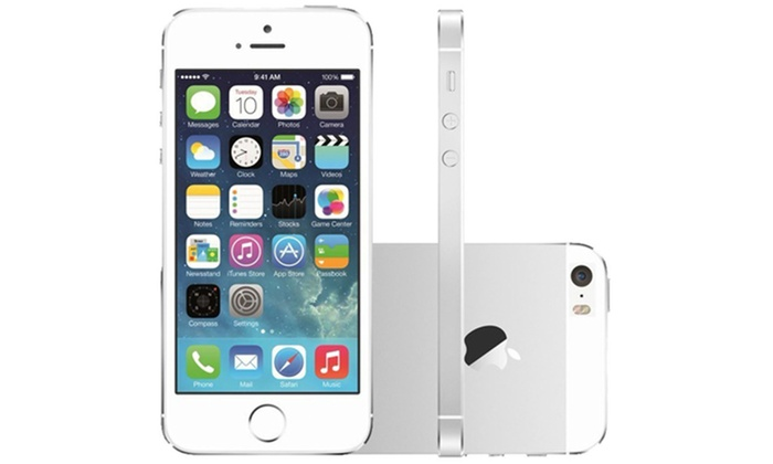 apple iphone 5s 16 go reconditionn groupon. Black Bedroom Furniture Sets. Home Design Ideas