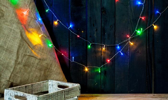 String Lights Vistaprint : 65% Off on Battery-Operated String Lights Groupon Goods
