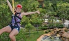 Gatorland - Orlando - Orlando: Zipline Ride and Gatorland Visit for One, Two, or Four (Up to 52% Off)