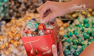Lindt Chocolate Cafe: Lindor Chocolate Pick and Mix - Fill Your Own Gift Box for $26 at Lindt Chocolate Café ($52 Value)