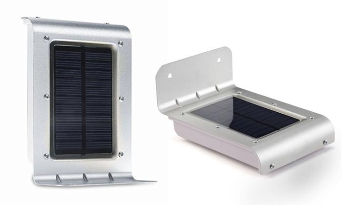 Lampada ad energia solare groupon