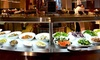 Dine-Aloft Hotel - Abu Dhabi: Dinner Buffet with Soft Drinks For Up to Ten at Dine, Aloft Abu Dhabi (Up to 55% Off)