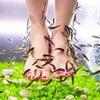 Massage des pieds & fish pédicure