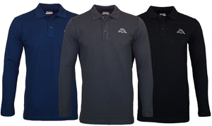 Polo Kappa manches longues homme