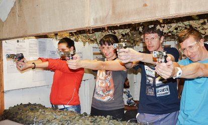image for Outdoor Adventure Day with Clay Pigeon Shooting and Target Practice with Various Guns at 3xtreme