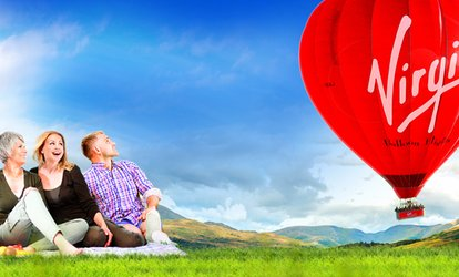 image for Virgin National Balloon Flight for One or Two with Virgin Balloon Flights, Multiple Locations (52% Off)