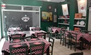 Osteria La Matta: Tigelle illimitate con salumi e formaggi più vino per 2 o 4 persone all'Osteria La Matta (sconto fino a 72%)