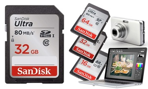 Carte mémoire Ultra SDHC Sandisk