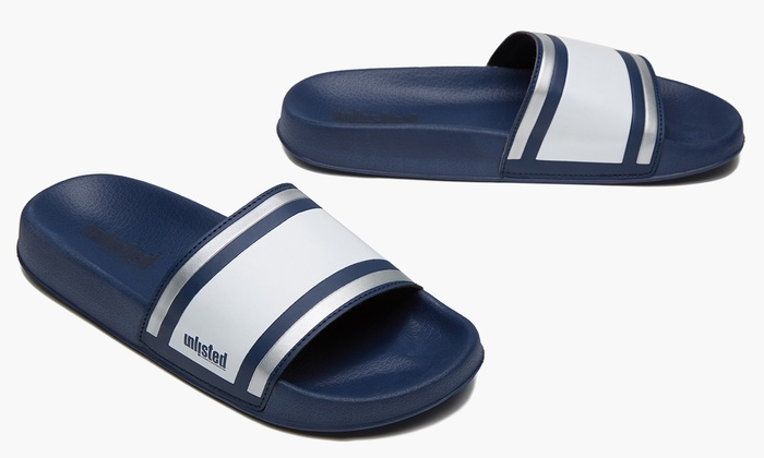 dd1322d1c7c9 Unlisted by Kenneth Cole Men s Slip-on Form Sandals (Sizes 10   11 ...