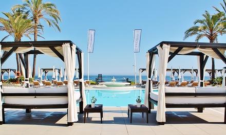 Hamaca o cama VIP y mojito para 2 personas desde 55 € en el Club de Playa La Cabane