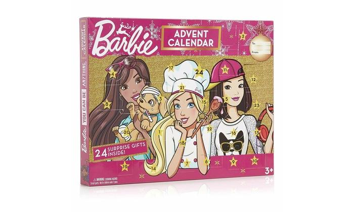 Calendrier Avent Barbie.Calendrier De L Avent Barbie 24 Mini Cadeaux