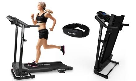 Tapis de course à pied Letix Speedrunner pro + moniteur de suivi cardio