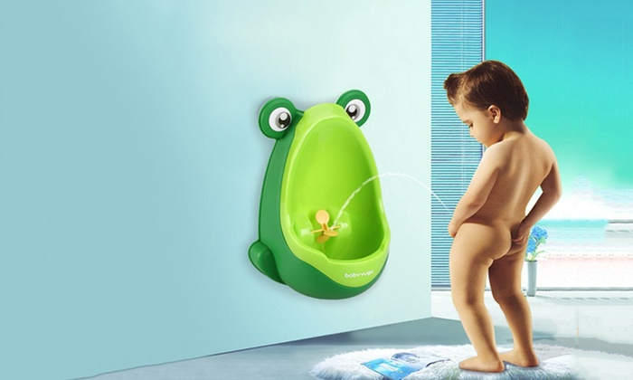 Groupon Goods: Wall-Mounted Potty Training Urinal for Boys (Shipping Included)