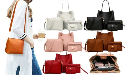 One or Two Sets of Four Women's Matching Handbags