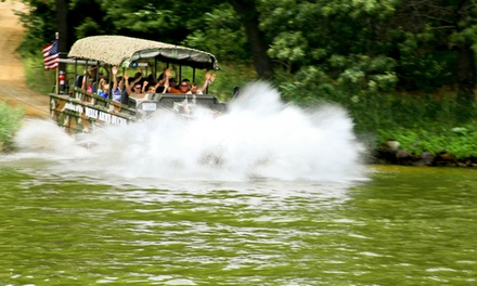 Dells Army Duck Tour for One, Two, or Four, or Combo Ticket for One from Dells Army Ducks (Up to 29% Off)