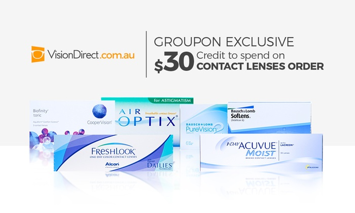 43a19b5fe3d6 VisionDirect   30 to Spend on Contact Lenses