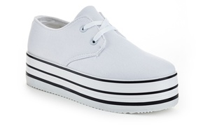 Rasolli Bina Women's Platform Fashion Sneakers(Sizes 5.5, 7.5, 8, 8.5)