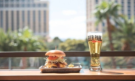 $26 for $40 Toward Pub Fare and Drinks for Two or More at Beer Park