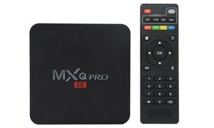 MXQ Pro 4K Ultra HD Quad-Core Streaming Media Player