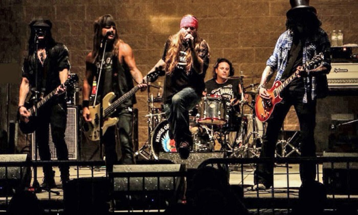 Appetite for Destruction – The Ultimate Tribute to Guns N' Roses - Fillmore Silver Spring: Appetite for Destruction – The Ultimate Tribute to Guns N' Roses on Friday, April 1, at 8 p.m.