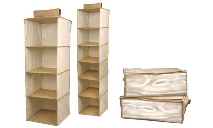 Four Piece Closet Organisers