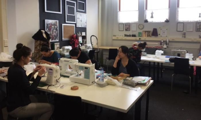 1, 3 of 5 uur naailes voor beginners bij Ensaid Modevakschool in Amsterdam