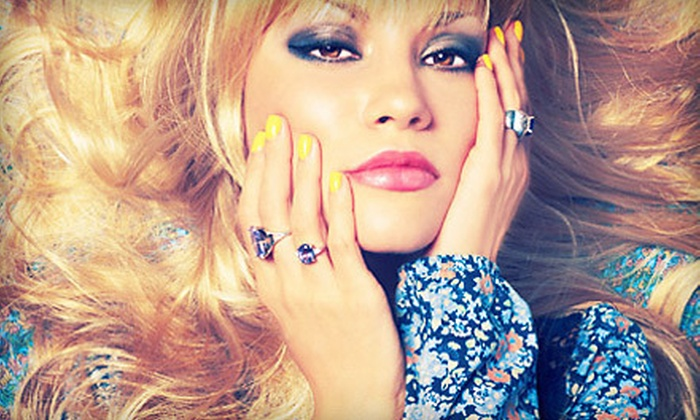 Pretty Girls Rock - Aberdeen: Updo and Mani-Pedi for One, Two, or Four Kids at Pretty Girls Rock (Up to 69% Off)