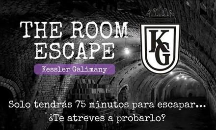 """Room Escape """"Kessler Galimany"""" de 75 minutos para hasta 6 personas con obsequio desde 44,95 € en Kessler Galimany"""