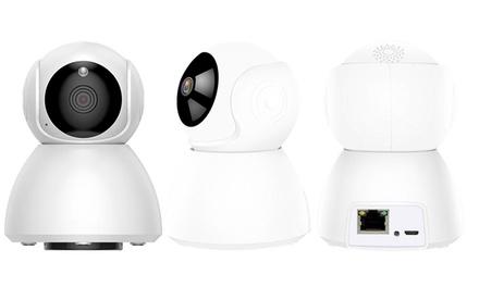 Cámara wi-fi de alta definición con visión nocturna por infrarrojos