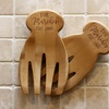 Up to 52% Off Personalized Bamboo Salad Hands from Stamp Out