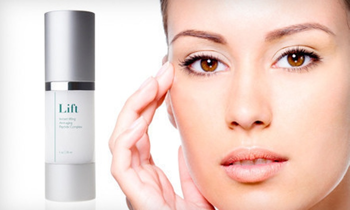 Collagen-Boosting Face-Lift Serum: $25 for the Ethos Collagen-Boosting Lift Anti-Aging Serum ($120 List Price). Free Shipping.