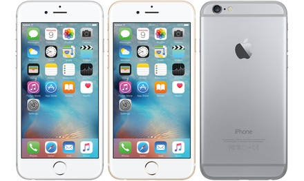 Refurbished Apple iPhone 6 16GB, 64GB or 128GB - Good Condition With Free Delivery