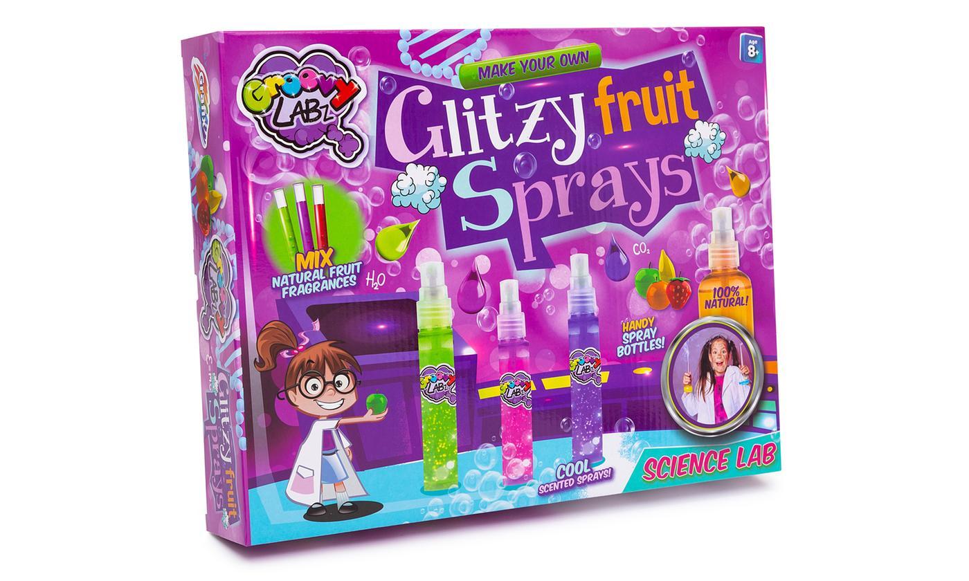 Make Your Own Glitzy Fruit Sprays