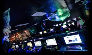Galaxy Gaming: Four Gaming Passes or One Gaming Pass and One All-Day Gaming Pass at Galaxy Gaming (Up to 40% Off)