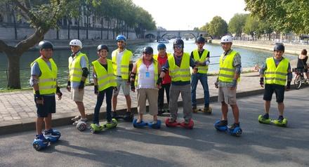 Balade en hoverboard d'1h30 dans Bruxelles pour 1, 2 ou 4 personnes dès 19,90 € avec Insolites Collections Belgium