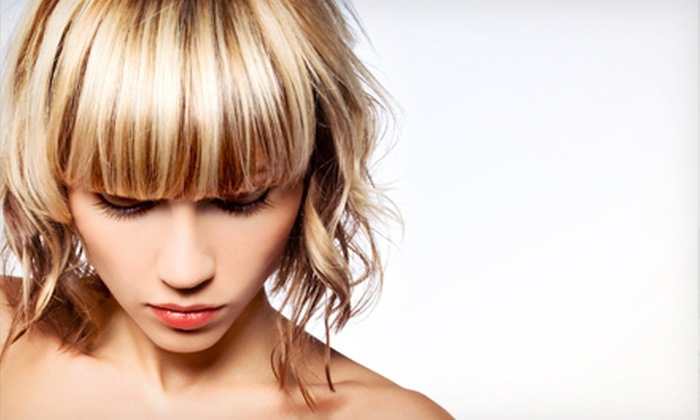 Spahara - Bells Corners West: Haircut, Shampoo, and Style with Optional Partial Highlights or All-Over Colour at Spahara (Up to 52% Off)