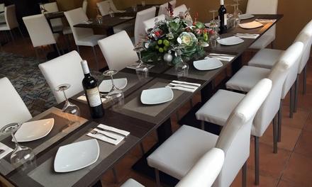 Menú mediterráneo para 2 o 4 con entrante, principal, postre, bebida y chupito desde 29,99€ en Bamboo Terraza Montepinar
