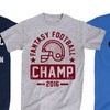 Men's Football Season Tees