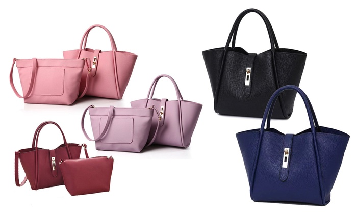 Deals for Less General Trading: Up to Five Two-Piece Tote Bag Sets from AED 85