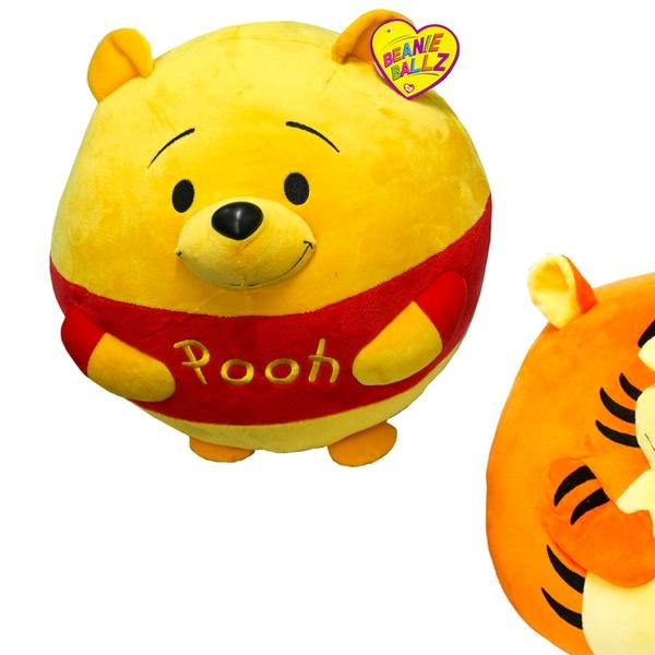 84cf139b29a Ty Large Plush Winnie the Pooh or Tigger Beanie Ballz