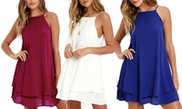 One (AED 59), Two (AED 99) or Three (AED 129) Women's Cami Dresses (Up to 74% Off)